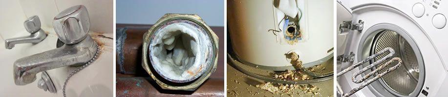 descalcificador contra la cal y la corrosión