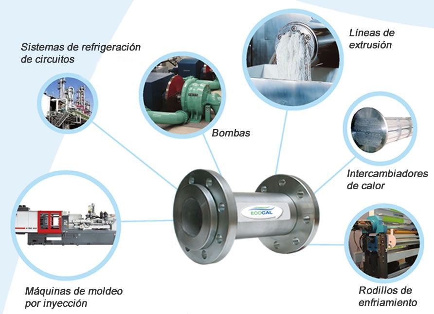 descalcificadores para maquinaria industrial